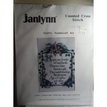 Janlynn Counted Cross Stitch Kit 112-85