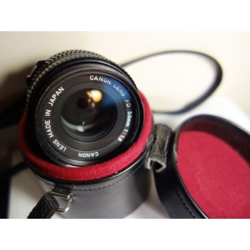 Canon FD 50mm 1-18 Lens Made in Japan