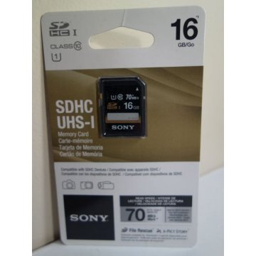 SONY 16GB SD SDHC UHS-I Memory Card