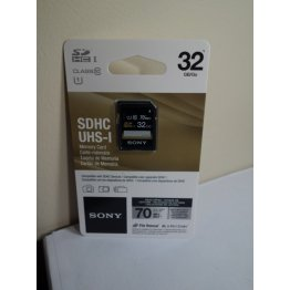 SONY - 32GB SD SDHC UHS-I Memory Card