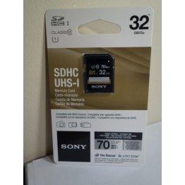 SONY 32GB SD SDHC UHS-I Memory Card