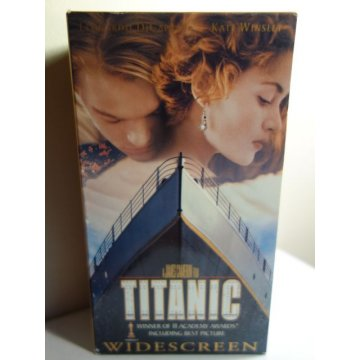 Titanic - Widescreen Edition - VHS, New and Sealed!