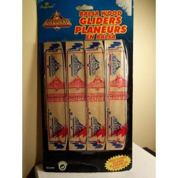 Vintage Balsa Wood Gliders - NEW