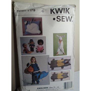 KWIK SEW Sewing Pattern 1179