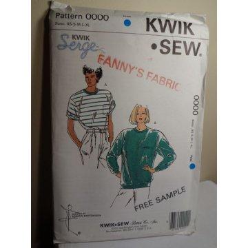KWIK SEW Sewing Pattern 0000