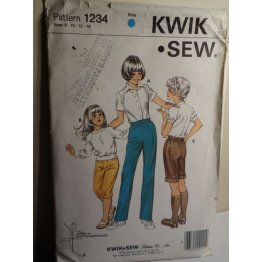 KWIK SEW Sewing Pattern 1234