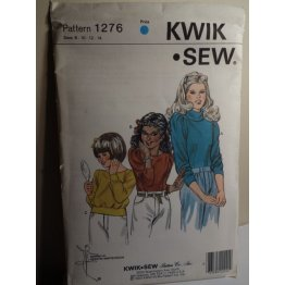 KWIK SEW Sewing Pattern 1276