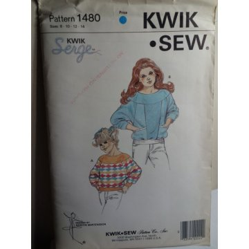 KWIK SEW Sewing Pattern 1480