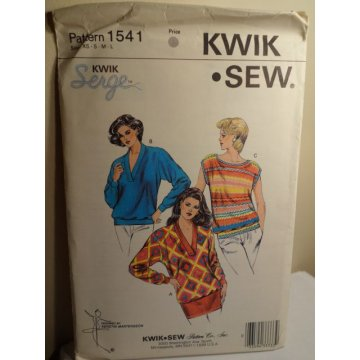 KWIK SEW Sewing Pattern 1541