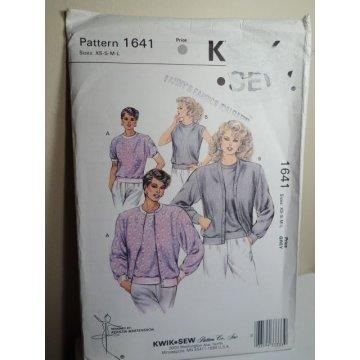 KWIK SEW Sewing Pattern 1641