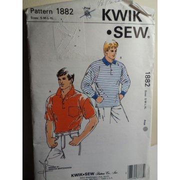 KWIK SEW Sewing Pattern 1882