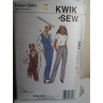KWIK SEW Sewing Pattern 2664
