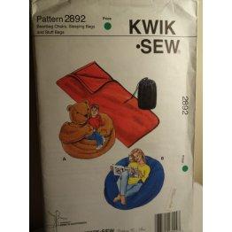 KWIK SEW Sewing Pattern 2892