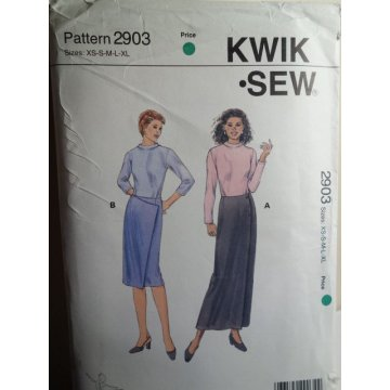 KWIK SEW Sewing Pattern 2903