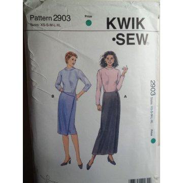 KWIK SEW Sewing Pattern 2903