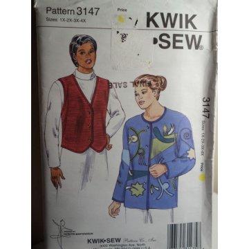 KWIK SEW Sewing Pattern 3147