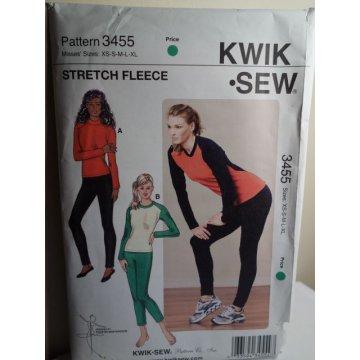 KWIK SEW Sewing Pattern 3455