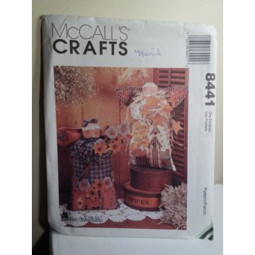 McCalls Sewing Pattern 8441