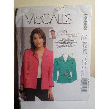 McCalls Nancy Zieman Sewing Pattern 5668