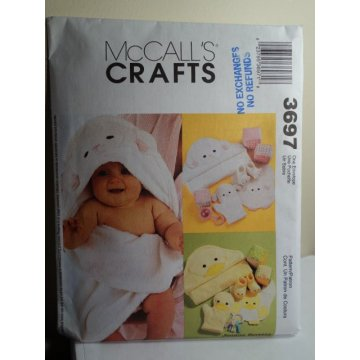 McCalls Sewing Pattern 3697