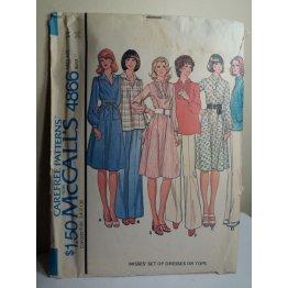 McCalls Sewing Pattern 4866