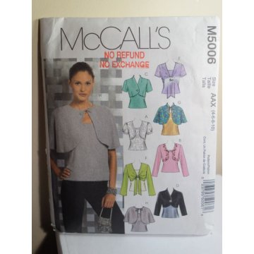 McCalls Sewing Pattern 5006