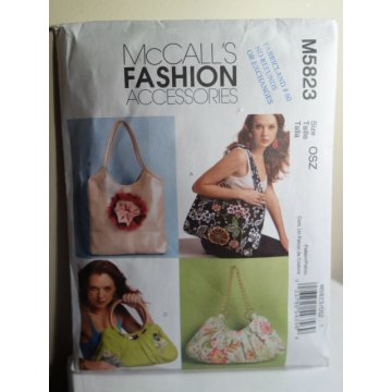 McCalls Sewing Pattern 5823