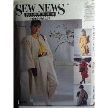 McCalls Sew News Sewing Pattern 5084