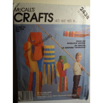 McCalls Sewing Pattern 2438