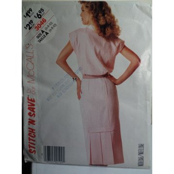 McCalls Sewing Pattern 3046