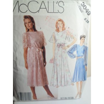 McCalls Sewing Pattern 3049