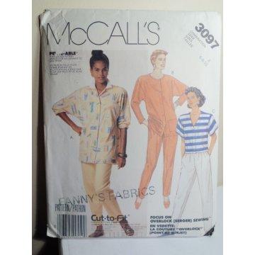 McCalls Sewing Pattern 3097