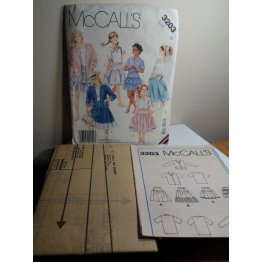 McCalls Sewing Pattern 3203