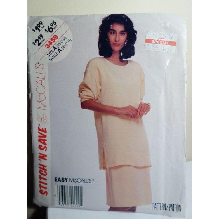 Mccalls Sewing Pattern 3459