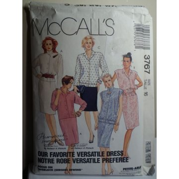 McCalls Sewing Pattern 3767
