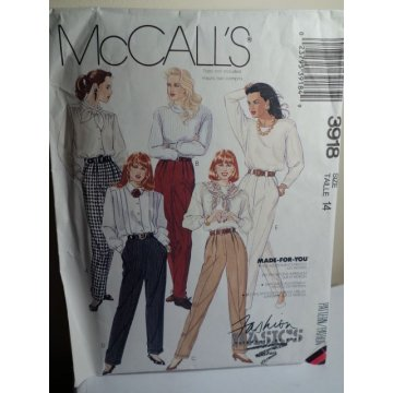 McCalls Sewing Pattern 3918