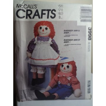 McCalls Sewing Pattern 3998