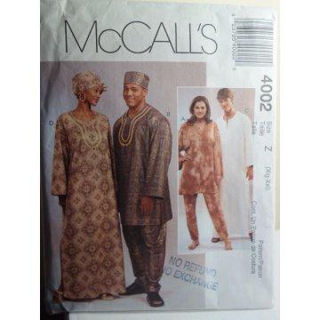 McCalls Sewing Pattern 4002