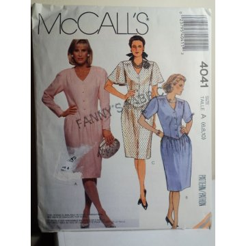 McCalls Sewing Pattern 4041