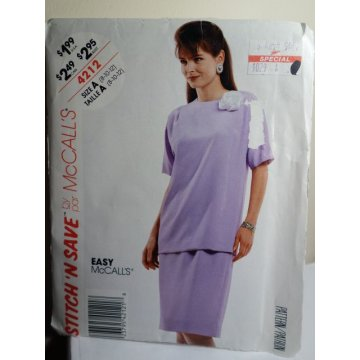 McCalls Sewing Pattern 4212