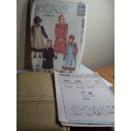 McCalls Sewing Pattern 4230