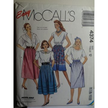 McCalls Sewing Pattern 4374