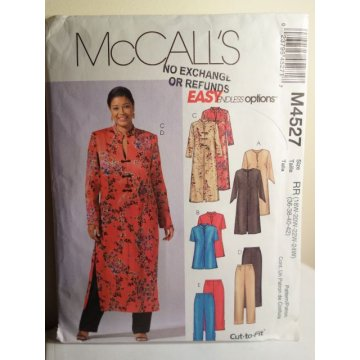 McCalls Sewing Pattern 4527