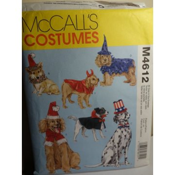 McCalls Sewing Pattern 4612