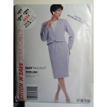 McCalls Sewing Pattern 4624