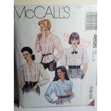 McCalls Sewing Pattern 4695