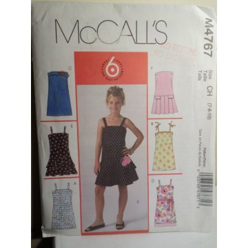 McCalls Sewing Pattern 4767