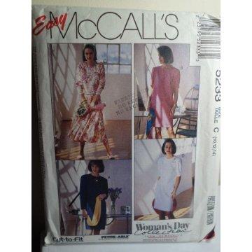 McCalls Sewing Pattern 5233
