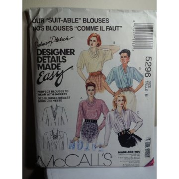 McCalls Sewing Pattern 5296