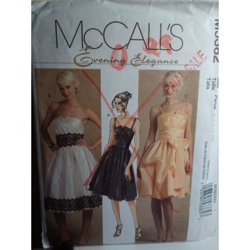 McCalls Sewing Pattern 5382